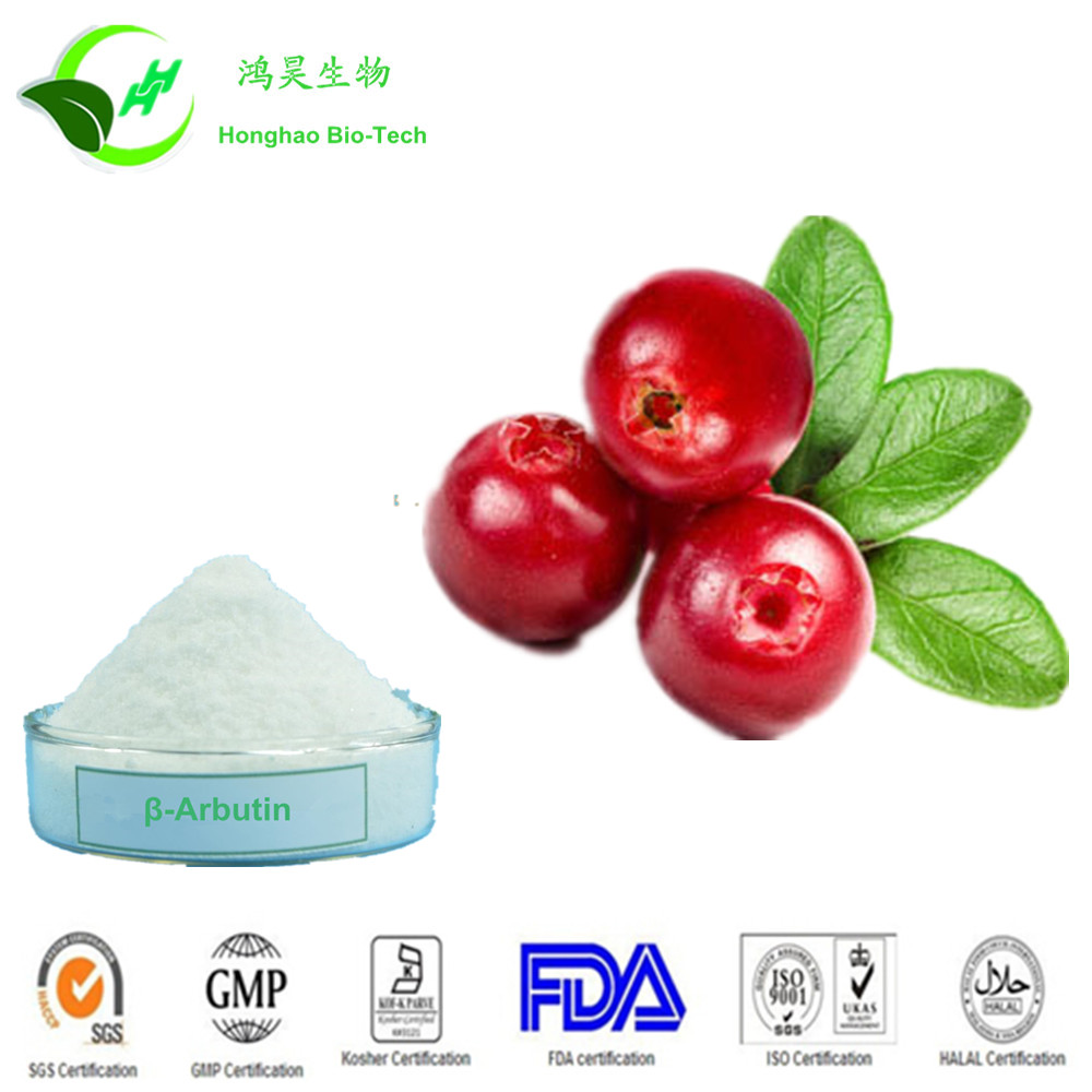 High Quality Skin Whitening cosmetics additives arbutin powder