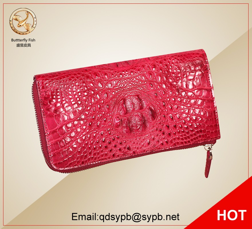 Genuine crocodile leather 2017 new bags women wallets lady clutch bag purse