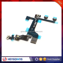 Best quality replacement power on off flex cable for iphone 5C, switch on off flex cable for iphone 5C
