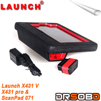 New Arrival Launch X431 V X431v Global Version Universal Scanner For Many Cars With Bluetooth/wifi And Touch Screen
