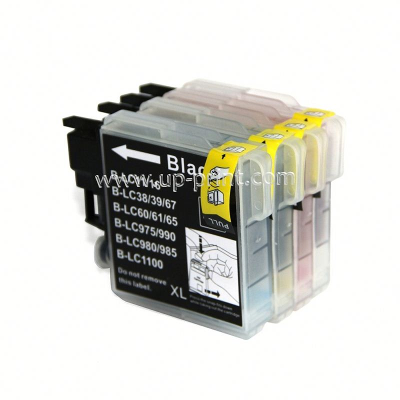 LC65 LC61 LC38 LC985 LC39 LC67 LC1100 LC980 Compatible ink Cartridge for Brother DCP 185C 195C 9805C J315 J515 <strong>J125</strong> <strong>Printer</strong>