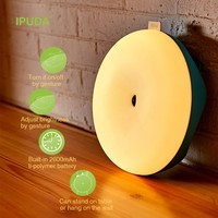 New LED Wireless rechargeable night light and sleeping function LED nite lights