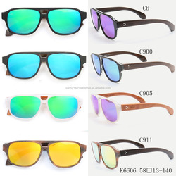 Italy design wood sunglasses fashianble design eyeglasses frame 6606