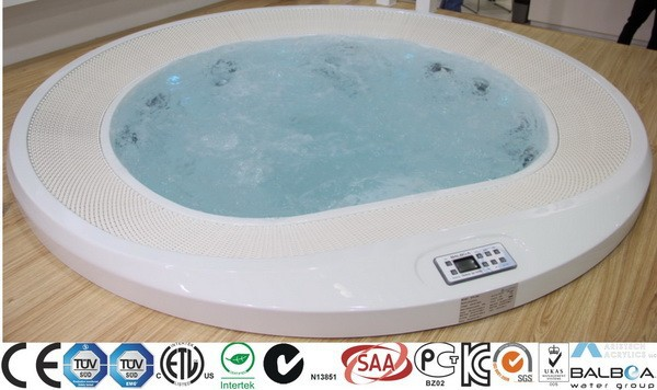Round Hot Tub New Commercial Spa from JNJ SPAS