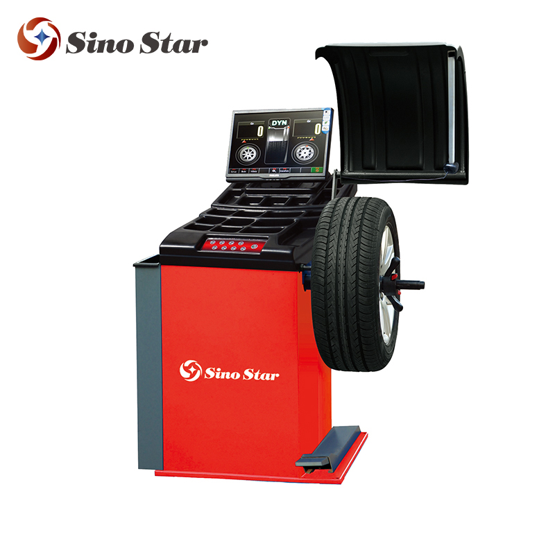 automotive equipments for vehicle tire balancer wheel alig/hot sale wheel balancer wheel alignment(SS-389V)