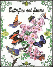 Rili Wholesale Fuzzy Velvet Art Coloring Posters, Nature
