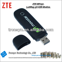 100% Original Unlock HSDPA 7.2Mbps zte portable 3g modem MF190 and 3G Data Card