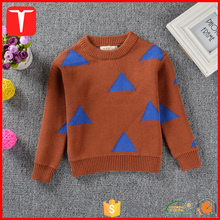 Fashion knitted sweater kids pullover 2017