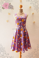 Halloween girl clothing in magic purple halloween party online dress shopping