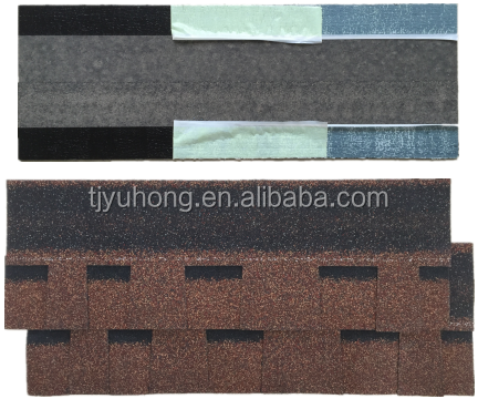 Autumn brown Double layer Asphalt Shingles