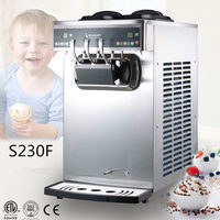 table top model double control system continuous icecream freezer machine
