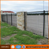 Hot galvanized Powder coated cheap durable iron bar fence