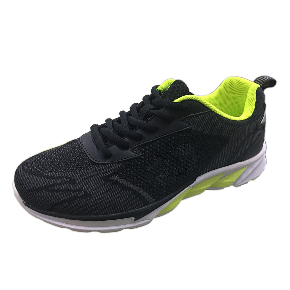 Men Curve Flykniting Sport Shoes Running 2018 China
