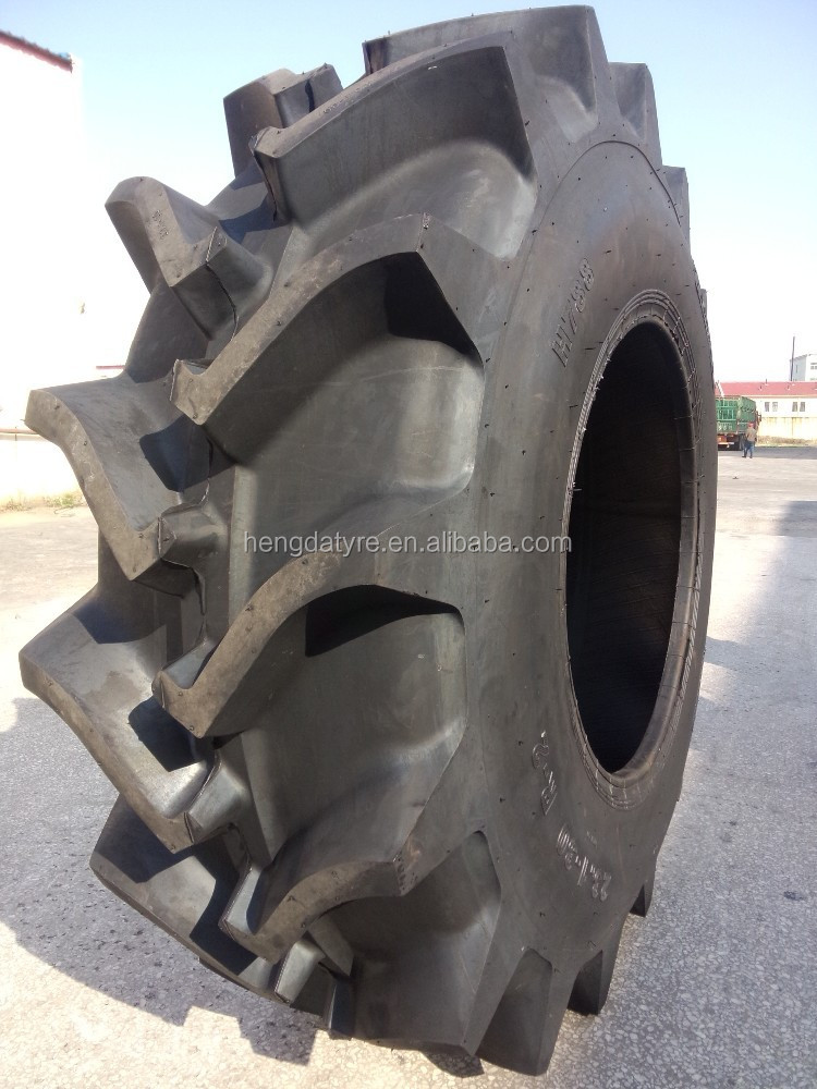 Tractor Tyre 23.1-26 used for farm and paddy field with R2 pattern