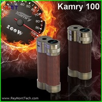 Update biggest vapor 18650 battery kamry 100 watt wood box mod