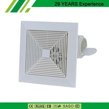 High Quality Factory Exhaust Fan 8 Inch White Plastic Frame