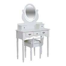 Acrylic Lucite Vanity Corner New Design Simple Modern Dressing Table