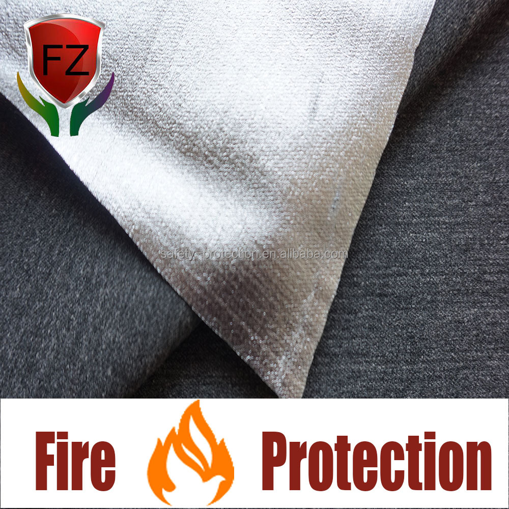 F&Z flame resistant acrylic woven fabric with pre-oxidized fiber for protective clothing