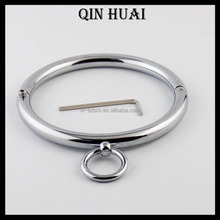 metal bondage collar stainless steel locking bondage for woman sexy strap on for man sex toys for couples adult slave bdsm locki