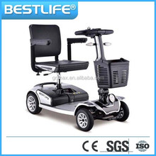 200w folding electric mobility scooter 4 wheel for the elder, disabled, handicapped,wheelchair