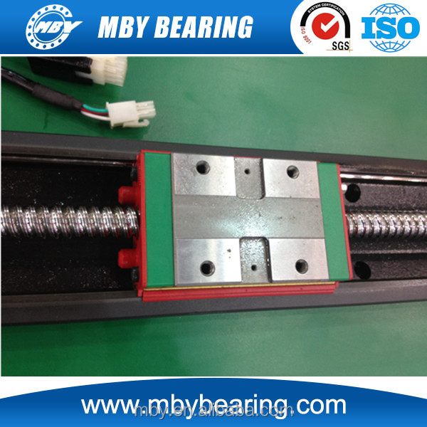 Linear guide rail HGH35HA plastic linear bearing