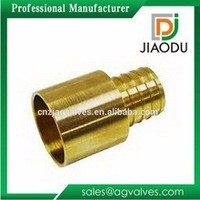 1'' china manufacture high quality brass pvc pipe fittings male round or hexagon adapter