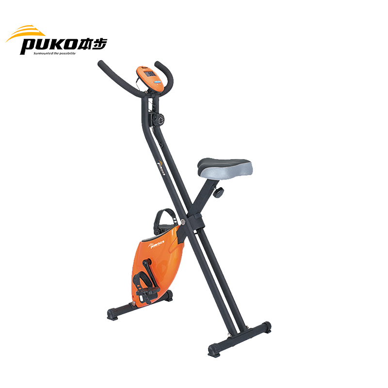 Standard home gym fitness club equipment workout sit down exercise stationary bike machine
