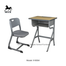 New product plastic chair and table used school furniture for sale