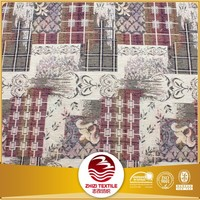Polyester cotton jacquard upholstery gobelin fabric