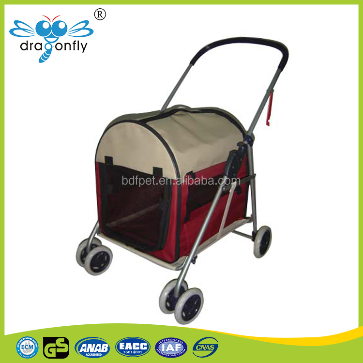 2017 New Hot Sale Pet on Wheels Pet Stroller Dog House