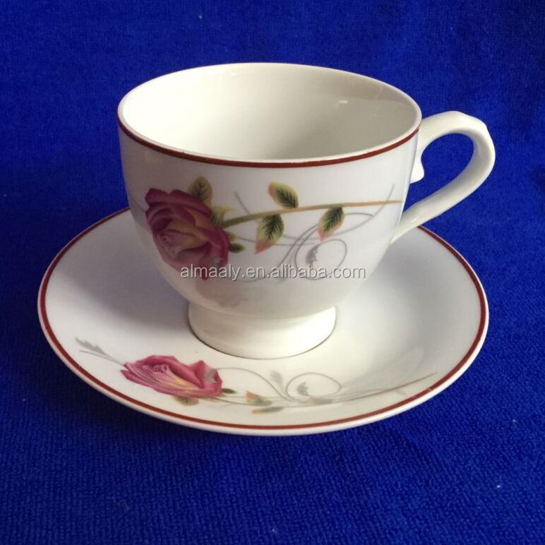 hot sale turkish style cup and saucer,gift box packing cup saucer
