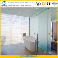 10mm 12mm 15mm 19mm clear tempered glass shower wall panels for bathroom