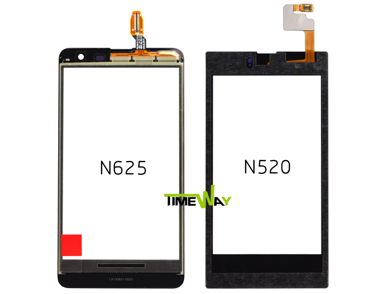 Cheap new low price for nokia lumia 520 digitizer cell phone replace