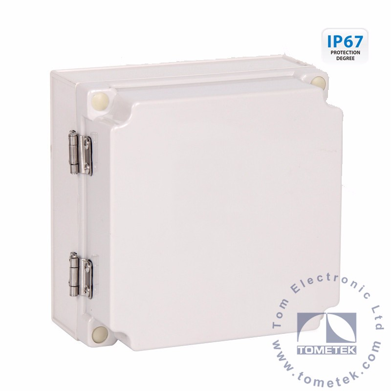 175*175*100mm IP67 polycarbonate meter box