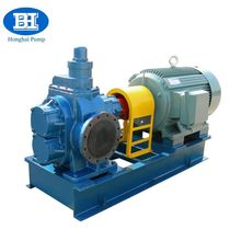 Skid mounted gear oil pump driven by electrical motor