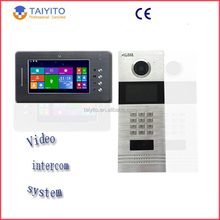 wired video remote intercom Digital ip villa video door phone system products
