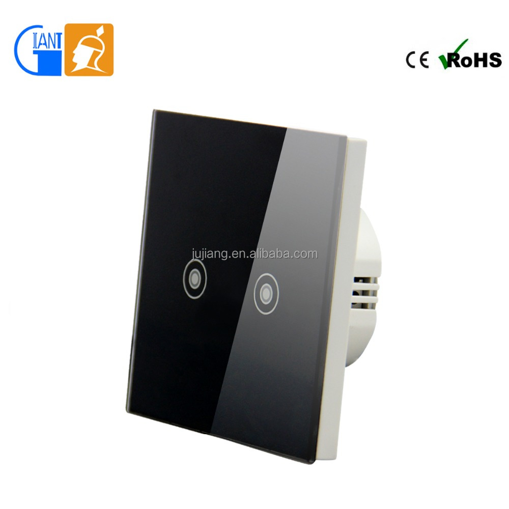 Smart Home Touch WiFi Screen Wall Light Switch for Home Automation Giant JJ-TSA-02
