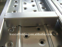 metal scaffold plank with hooks/catwalk for ringlock system