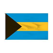 Wholesale Customized Bulk Cheap Polyester Bahamas Countries Flag Banner 3X5