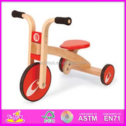 2015 New wood kids tricycle,popular wooden kids bicycle WJ277577-x