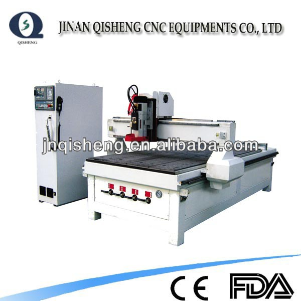 plywood cnc cutting machine from china atc QS1325 cnc router 3 axis