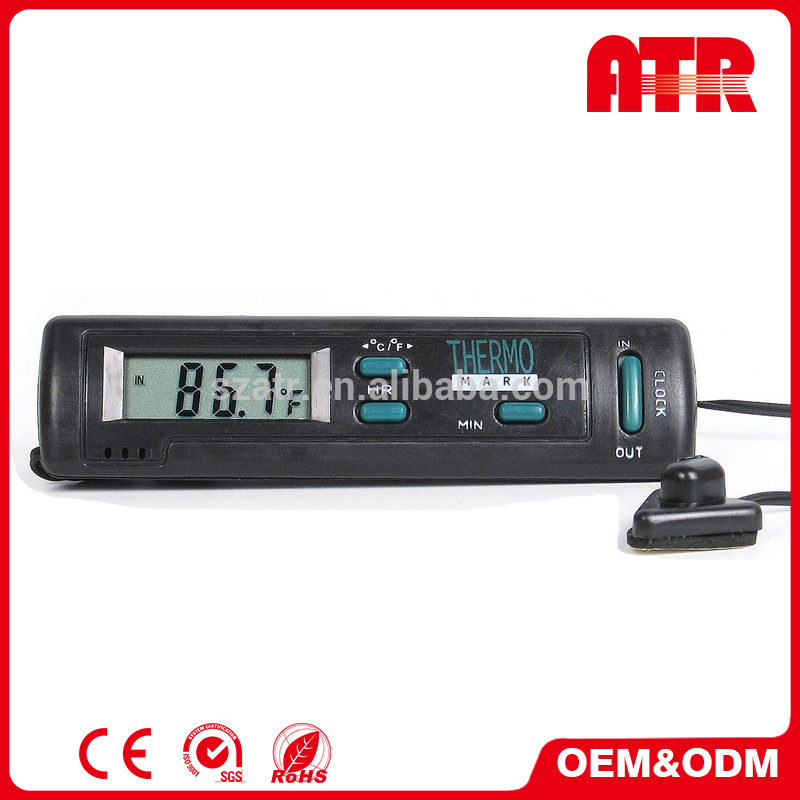 High precision back light digital car thermometer