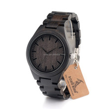 2016 new arrival Bewell wood wrist watch made of 100% natural wood with japan movement, wood watch with your logo