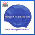 Ear protection swim caps/silicone swim caps