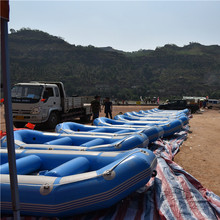 China pvc inflatable boat rafting boat price