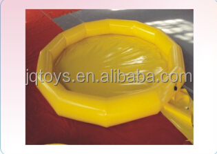 2016 yellow PVC Inflatable Plastic Swimming pool