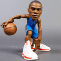 Custom PVC Jointed action figure football player , OEM 3D movable football action figures