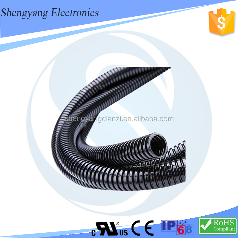 New Products ROHS / IP68 Certification Large Diameter Plastic Pipe Prices Of Polyamide Pa66 /Nylon 66 Corrugated Hose