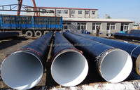 China Manufactory Anticorrosion large diameter spiral steel pipe for construction materials