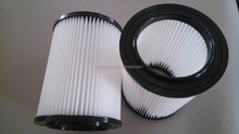 high efficient cartridge filters for wet/dry vacuum cleaner machines
